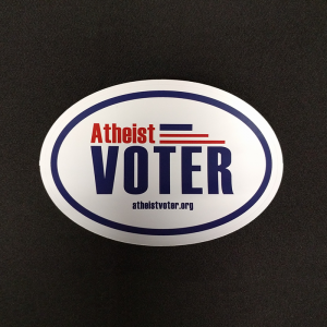 AtheistVoterSticker