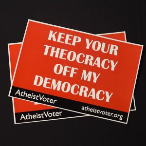 TheocracyProtestSign