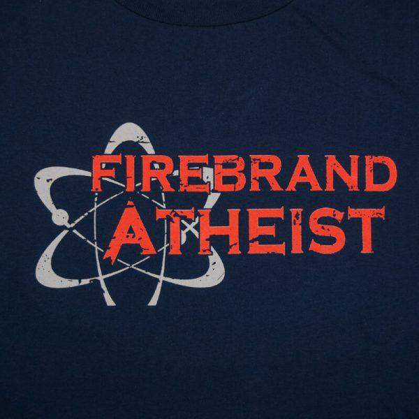 Firebrand Atheist Blue