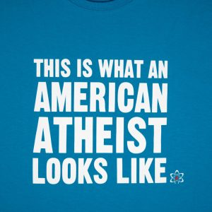 What An American Atheist Looks Like Light Blue