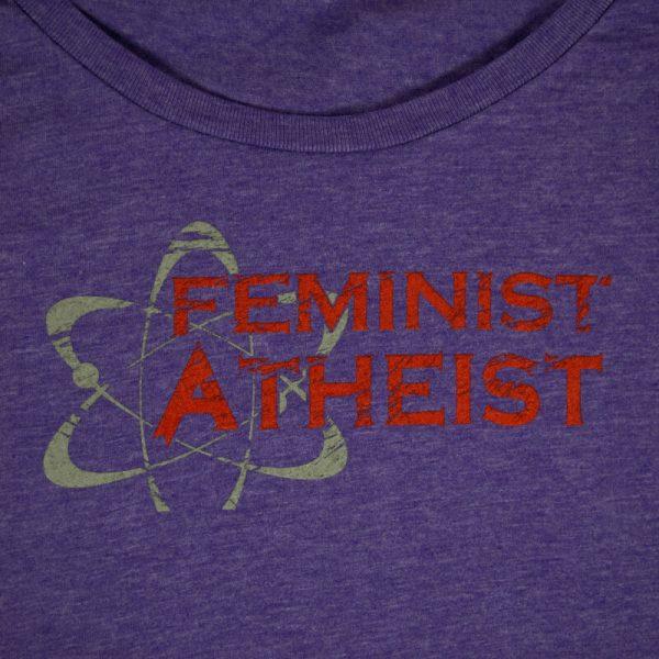 Feminist Atheist Purple