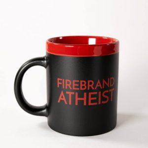 Firebrand Atheist Mug