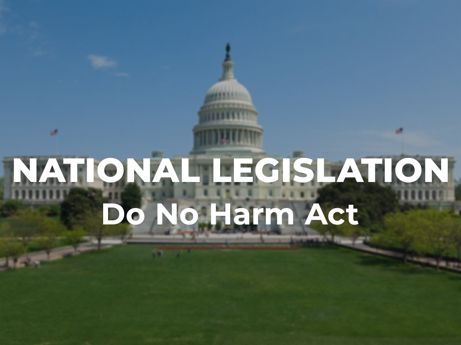 American Atheists Stands up for the Do No Harm Act | American Atheists